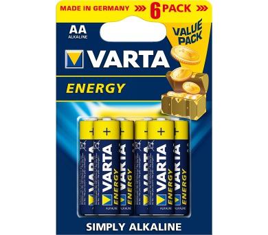 VARTA LR6 6BP AA Energy Alk