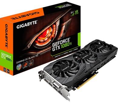 GIGABYTE GTX 1080 Ti Gaming OC BLACK 11G (GV-N108TGAMINGOC BLACK-11GD)
