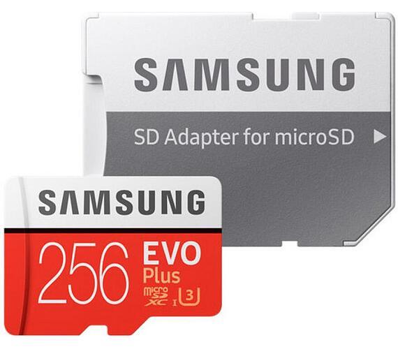Samsung EVO Plus + SD adaptér (MB-MC256GA/EU)