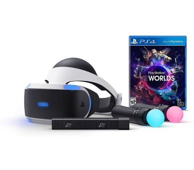 PS4 - PSVR/Cam/PS Move x2/VR Worlds/Demo/EAS