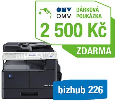 Minolta Bizhub 226 + OMV poukaz 2500Kč (A8A5021) + DOPRAVA ZDARMA