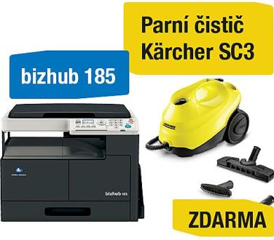 Minolta Bizhub 185 + Kärcher SC3 parní čistič (A0XY025)