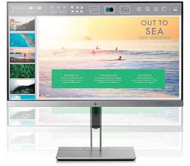 "HP EliteDisplay LED LCD E233 23"" IPS/1920x1080/1000:1/5ms/250cd/VGA,DP,HDMI,USB/ 3/3/3 (1FH46AA#ABB)"