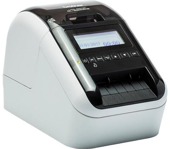 Brother QL-820NWB tiskárna samolepících štítků + DOPRAVA ZDARMA