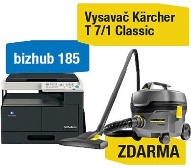 Minolta Bizhub 185 + Kärcher vysavač T 7/1 Classic (A0XY025)