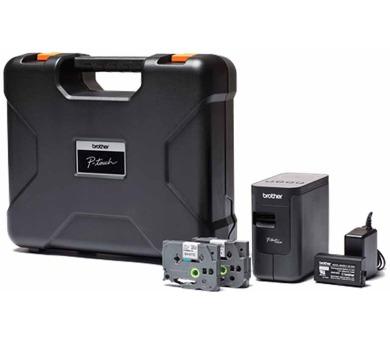 Brother PT-P750TDI tiskárna samolepících štítků s WiFi + Li-Ion akumulátor + kufřík (PTP750TDIYJ1)