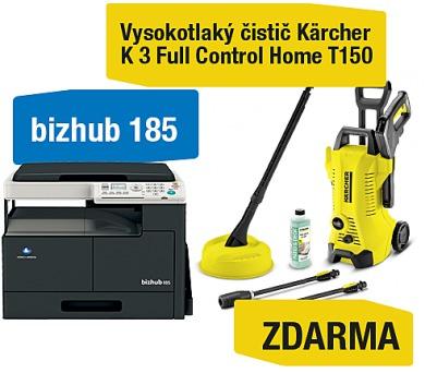 Minolta Bizhub 185 + Kärcher vysokotlaký čistič K 3 Full control Home (A0XY025)
