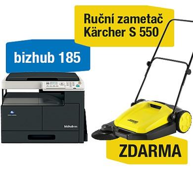 Minolta Bizhub 185 + Kärcher S 550 ruční zametač (A0XY025)