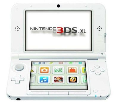 Nintendo 3DS XL Pink + White