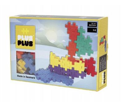 Stavebnice Plus-Plus Midi Basic 50ks Loď v krabičce 24x16x4cm