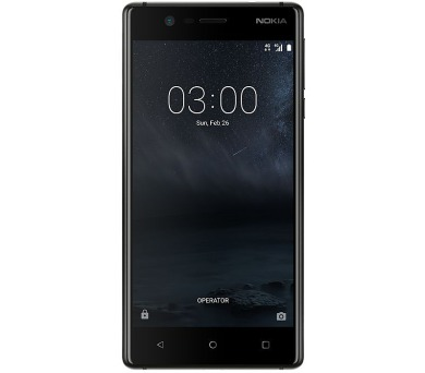 Nokia 3 Dual SIM Matte Black + DOPRAVA ZDARMA