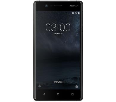 Nokia 3 Matte Black Dual SIM + DOPRAVA ZDARMA