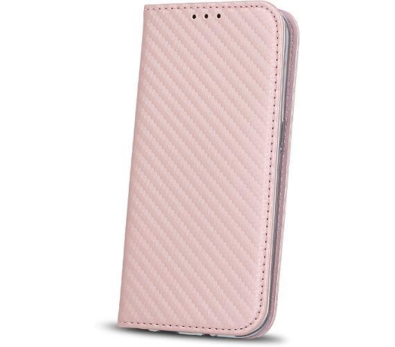 Smart Carbon pouzdro Huawei P10 Lite rose gold