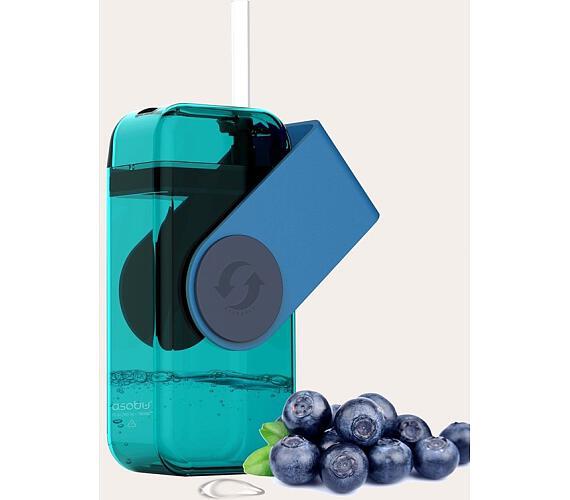 ASOBU univerzální dětský Drink Box modrý 300ml