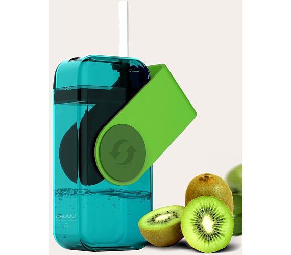 ASOBU univerzální dětský Drink Box zelený 300ml