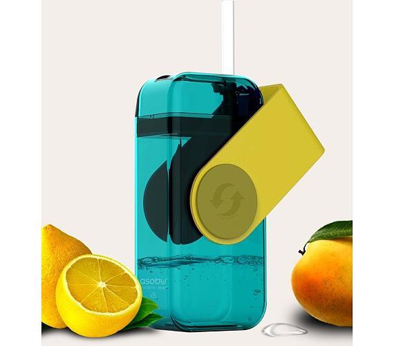 ASOBU univerzální dětský Drink Box žlutý 300ml
