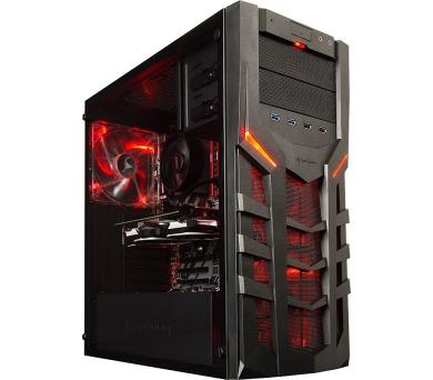 HAL3000 Ryzen 5 3G by MSI/ AMD Ryzen 5 1600/ GTX 1060/ 16GB/ 120GB SSD + 1TB/ W10 (PCHS2204)