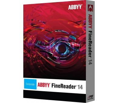 ABBYY FineReader 14 Corporate / perseat / ESD + DOPRAVA ZDARMA