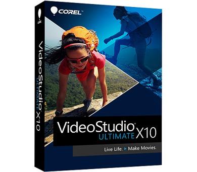 VideoStudio Pro X10 Ultimate ML EU + DOPRAVA ZDARMA