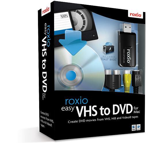 Roxio Easy VHS to DVD for Mac (243100EU)