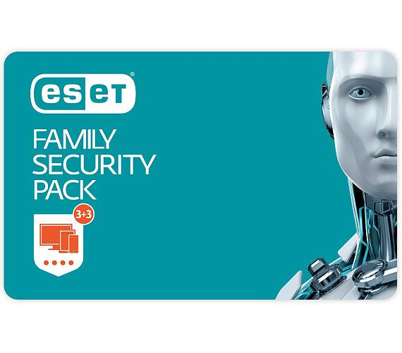 ESET Family Security Pack - lic. + DOPRAVA ZDARMA