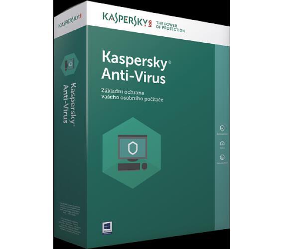 Kaspersky Anti-Virus CZ + DOPRAVA ZDARMA