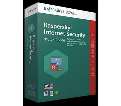 Kaspersky Internet Security multi-device CZ + DOPRAVA ZDARMA