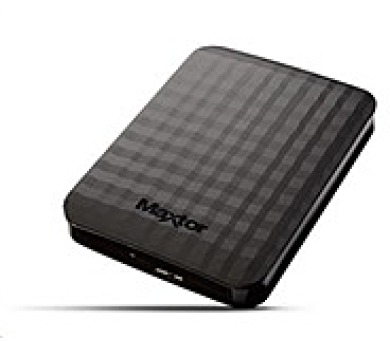 "MAXTOR M3 Portable 2TB Ext. 2.5"" USB 3.0 Black + DOPRAVA ZDARMA"