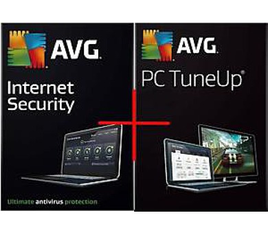 AVG Ultimate - Internet Security + Tune Up (12 měs.) SN Email ESD