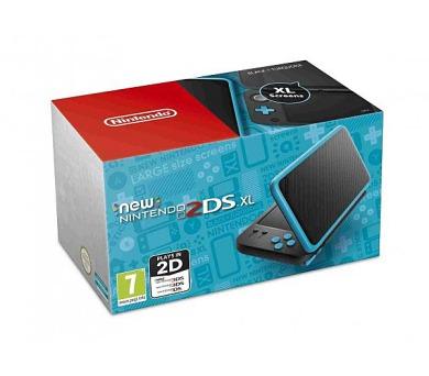 Nintendo 2DS XL Black & Turquoise