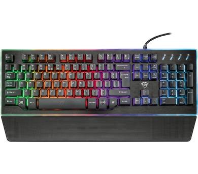 TRUST GXT 860 Thura Semi-mechanical Keyboard CZ/SK (22286)