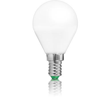 WE LED žárovka SMD2835 G45 E14 3W teplá bílá