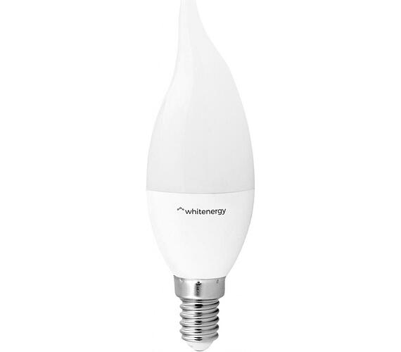 WE LED žárovka SMD2835 C37L E14 5W teplá bílá