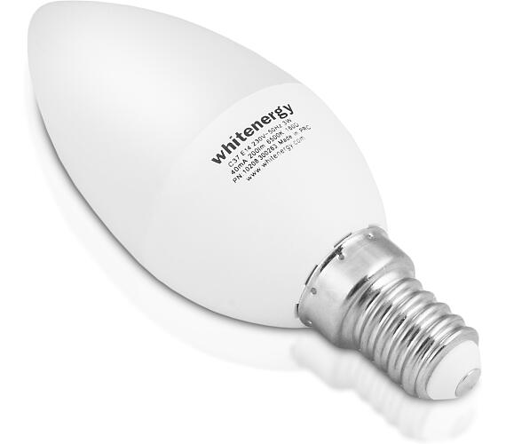 WE LED žárovka SMD2835 C37 E14 7W teplá bílá (10394)