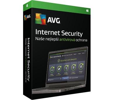 _Nová Licence AVG Internet Security ZAKL. EDICE 1 lic. (36 měs.) SN Email ESD