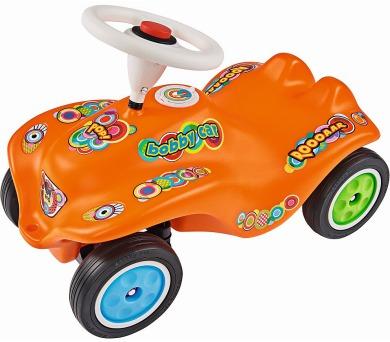 BIG BOBBY CAR POP oranžové + DOPRAVA ZDARMA