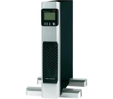 AEG UPS Protect B.750 PRO/ 750VA/ 675W/ 230V/ Tower/ Rack - 2U/ otočný display/ line-interactive UPS + DOPRAVA ZDARMA
