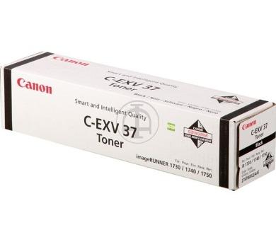 Canon toner C-EXV37/ IR-17xx/ 15 100 stran/ Černý (2787B002)