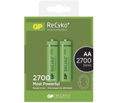 GP nabíjecí baterie AA NiMH 2700mAh Recyko+ 2ks blistr (1032212130)