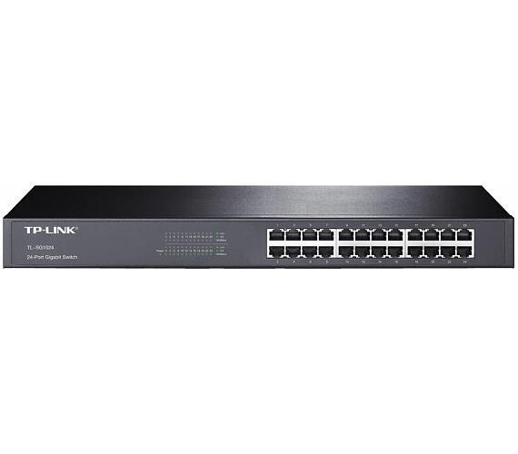 """TP-LINK TL-SG1024D / switch 24x 10/100/1000Mbps/ desktop/ 13 """" kov + DOPRAVA ZDARMA"""