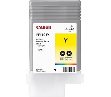 Canon Zásobník inkoustu PFI-101Y/ iPF-5x00/ 6100/ 6000s/ Žlutá