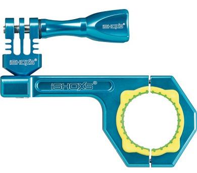 Rollei Bullbar 34 - profesionální držák na řídítka pro GoPro a ROLLEI/ Modrý (21554) + DOPRAVA ZDARMA