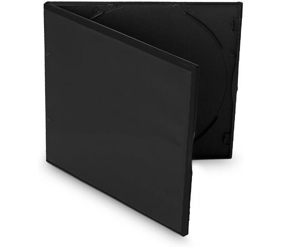COVER IT box na VCD slim ULTRA/ plastový obal na 1 CD/ 5,2mm/ černý