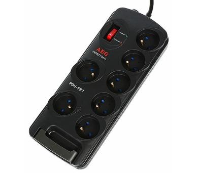 AEG Přepěťová ochrana PDU-FR7/ 230V/ 7 zásuvek