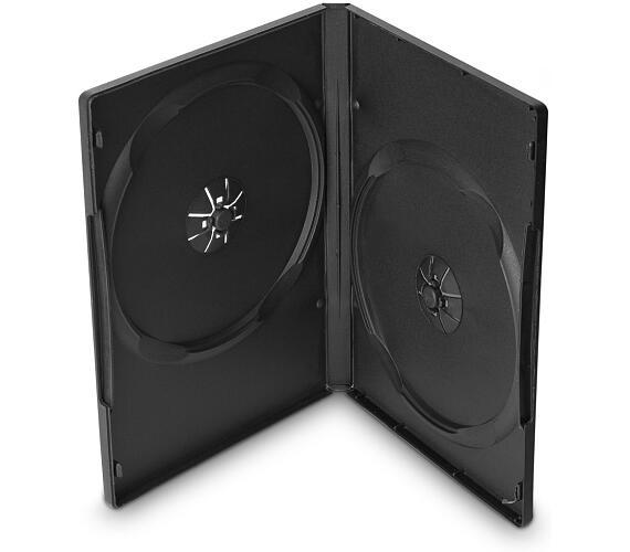 COVER IT box na 2ks DVD medií/ 14mm/ černý