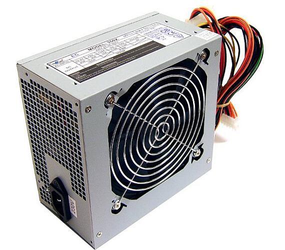 EUROCASE zdroj 350W/ ATX-350W/ 12cm fan/ PFC ATX 20/24pin/ 2x SATA/ bulk