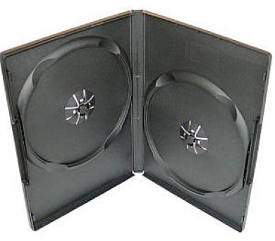 COVER IT box na 2ks DVD medií/ 9mm/ černý