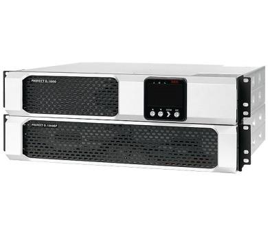 AEG UPS Protect D.1500/ 1500 VA/ 1350 W/ 230 V/ Rack - 2U/ vč. pojezdů/ online UPS (6000008436) + DOPRAVA ZDARMA