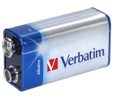 VERBATIM alkalická baterie 9V (6LR61)/ blister 1ks