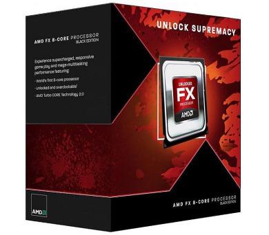 AMD FX-8300 / Vishera / LGA AM3+ / max. 4,2 GHz / 8C / 16MB / 95W TDP / BOX (FD8300WMHKBOX)